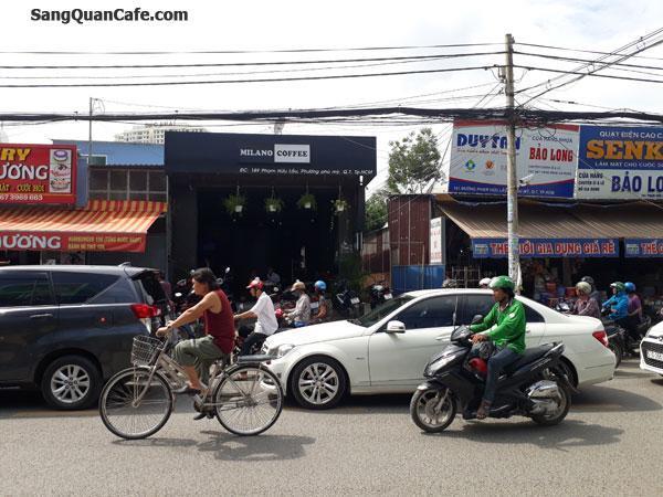Sang Quán Coffee đường Phạm Hửu Lầu