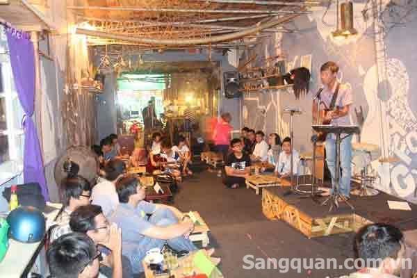 Sang quán coffee GuitarAcoustic Phạm ngũ Lão, Gò vấp