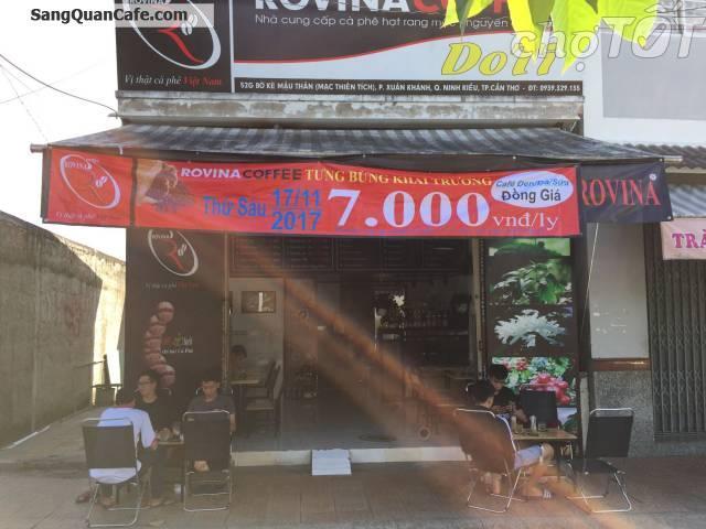 Sang quán coffee nằm trên đường Mạc Thiên Tích