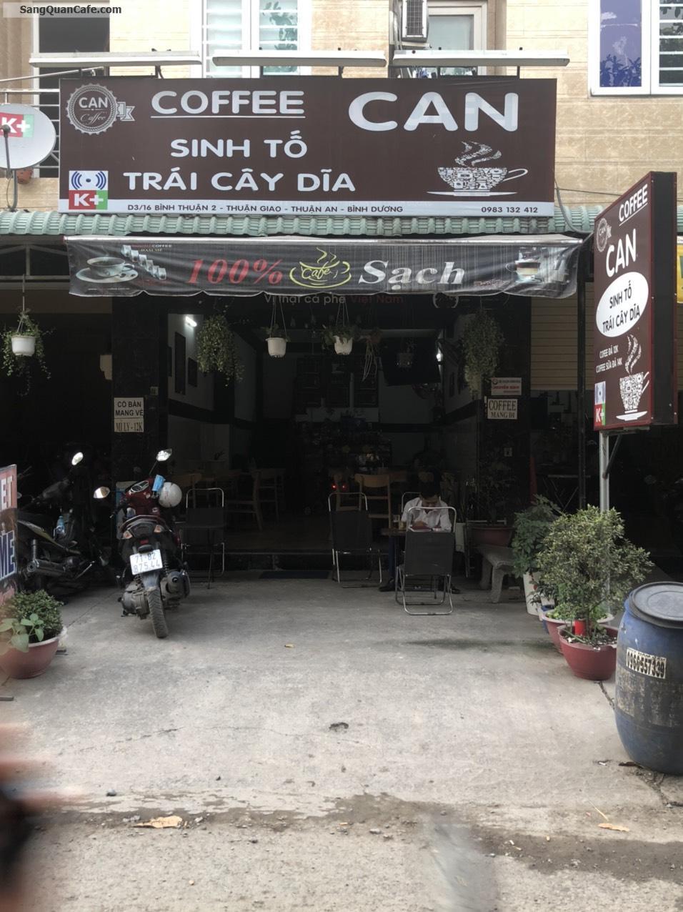 Sang quán coffee tại KDC Thuận Giao, Thuận An, Bình Dương.