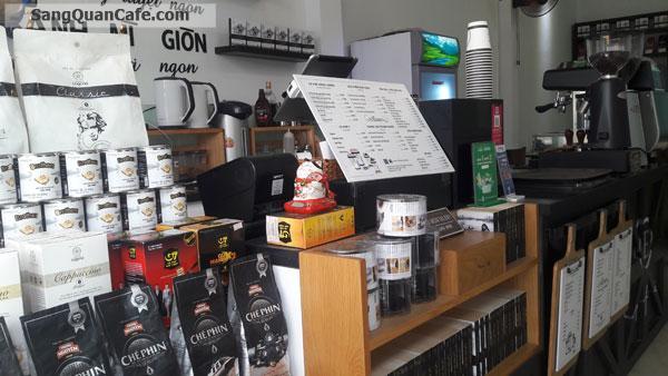 Sang quán Coffee thương hiệu Trung Nguyên giá rẻ