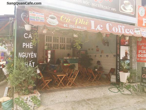 Sang quán coffee, và đồ ăn sáng  Góc 2 MT