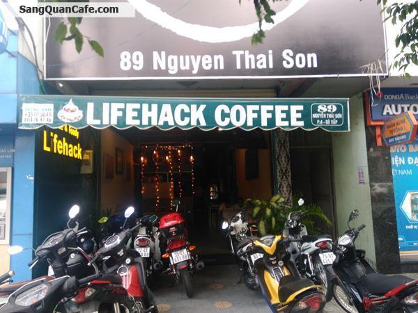 Sang Quán Coffee vị trí đẹp, khu vực sầm uất