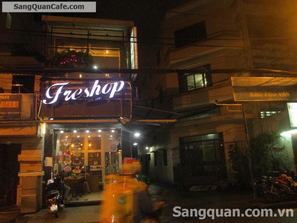 Sang quán góc 2 mặt tiền đường Hòa Hảo
