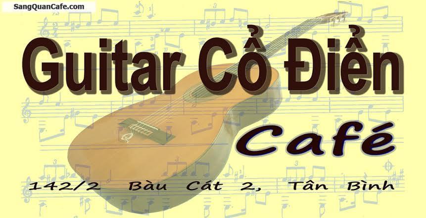Sang Quán Guitar Cổ Điển Cafe
