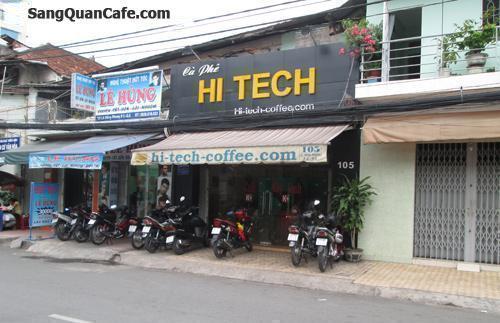 Sang quán Hi-Tech Cafe 105 Lê Hồng Phong, Q. 5