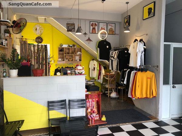 Sang quán hoặc sang mặt bằng Cafe + Hamburger + shop quần áo