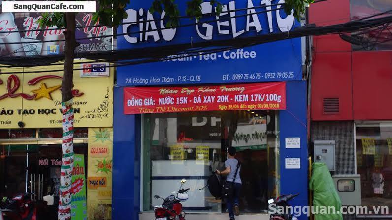 Sang Gấp Quán kem cafe quận Tân Bình