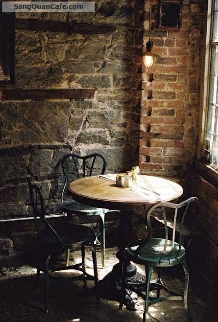 Sang quán nhượng nhà hàng cafe, khu vực nhiều quán Cafe