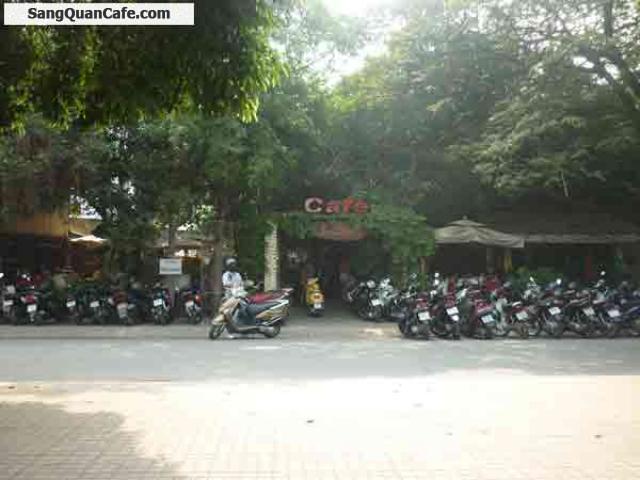 Sang quán sân vườn quận Tân Phú