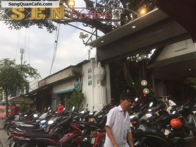 Sang quán Sen coffee, Biệt Thự sân vườn, 3 lầu, có thang máy