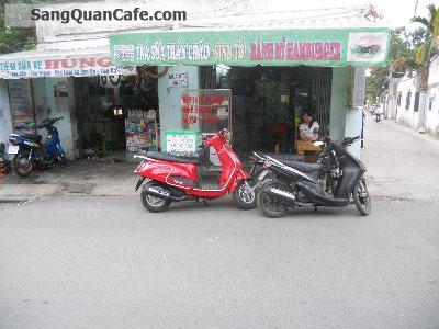 Sang quán sinh tố + thức ăn nhẹ quận Gò Vấp