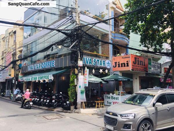 Sang quán thương hiệu Viva Star Coffee 2 mặt tiền Tân Bình