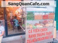 Sang Quán Trà Sữa + Cafe quận Thủ Đức