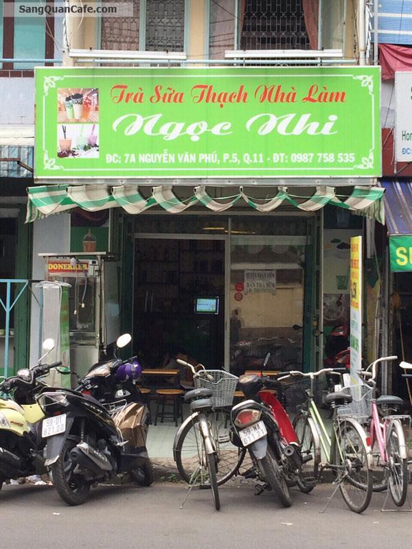Sang Quán Trà Sữa - Cafe - Quán Ăn đối diện 2 trường Lê Quý Đôn