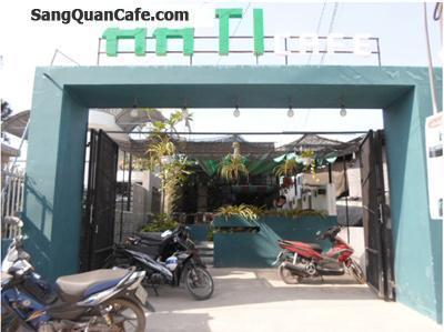 Hóc Mô Sang quán cafe cao cấp giá rẻ 300 triệu
