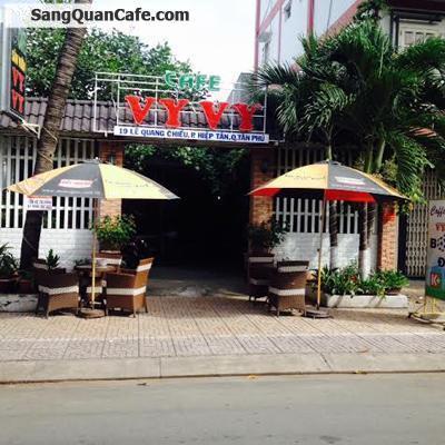 Sang quans cafe sân vườn quận Tân Phú